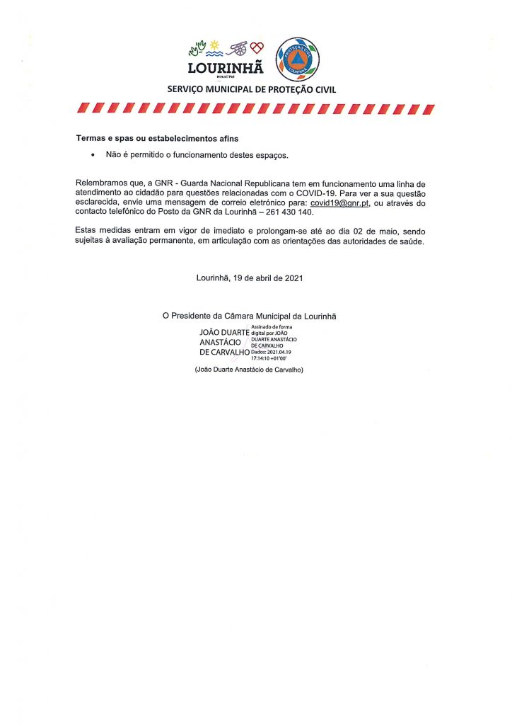 CML Comunicado n.º 22